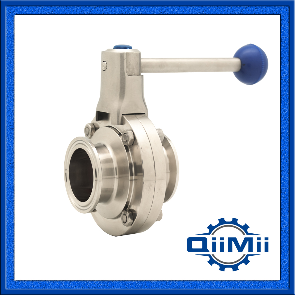 1.5 SS316L 38mm Silicon TC butterfly valve manual ,pull handle butterfly valve<br><br>Aliexpress