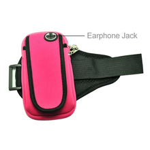 Runing Phone Bag Cases Fashion Brassard Sports Running Jogging Gym Arm Band Bags Waist Porket Universal fit for 5.7inch(China)