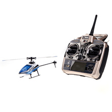 V977 Power Star X1 6CH 2.4G Brushless 3D Flybarless RC Helicopter(China)