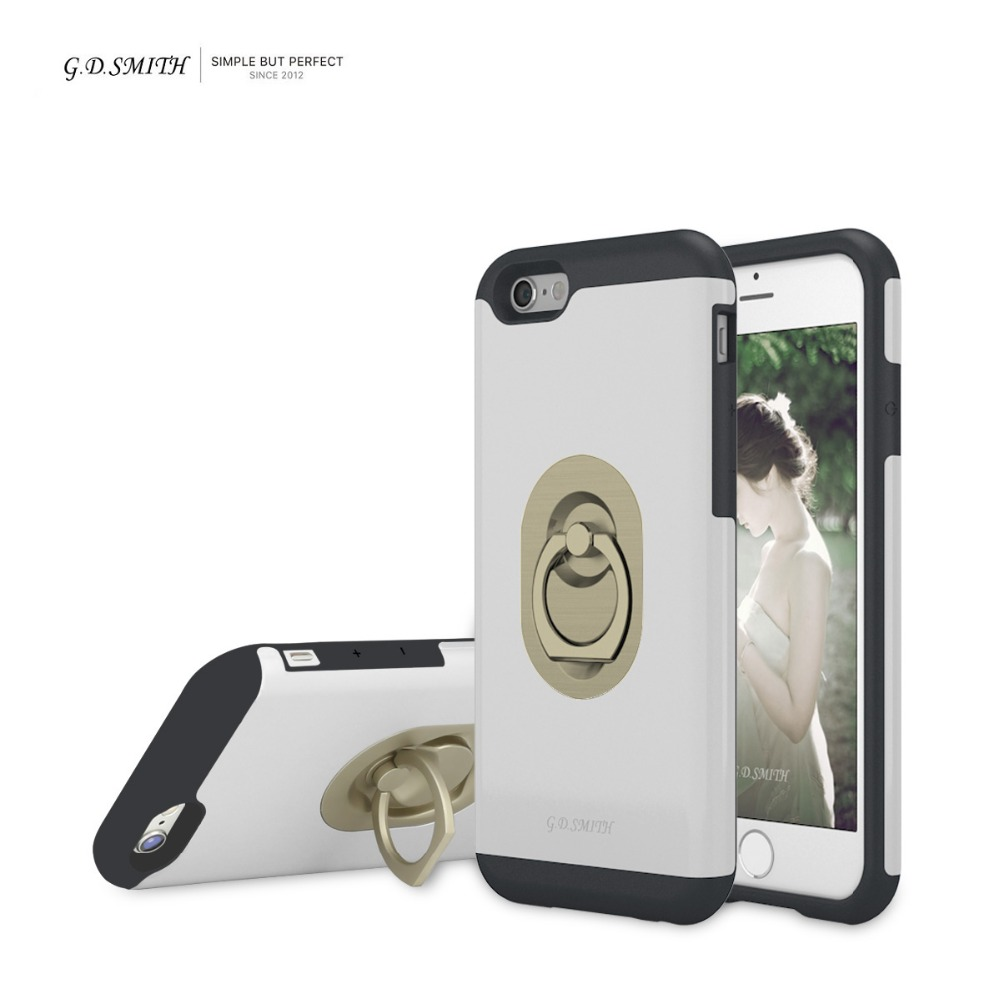 G D SMITH Luxury Ring Cover font b Case b font for font b iPhone b