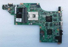 Free Shipping 615308-001 for HP DV7 dv7-4000 laptop motherboard DA0LX6MB6I0, tested 100% working