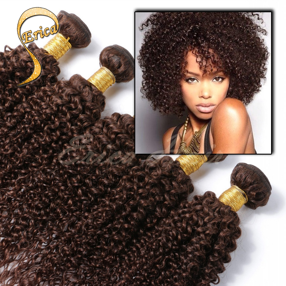 Brazilian Kinky Curly Virgin Hair Weft Brazilian Curly Human Hair 3 Bundles/pcs afro kinky curly Hair extensions 100% Human Hair<br><br>Aliexpress