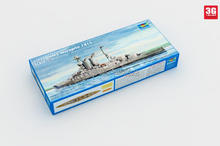 Freeshipping Assembly Model kits Modle building Trumpeter 05780 1/700 HMS Battleship Warspite 1915 scale(China)