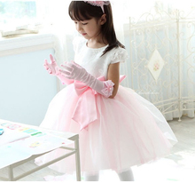 female party child formal dress flower girl wedding baby princess costume dance 2016 children's clothing