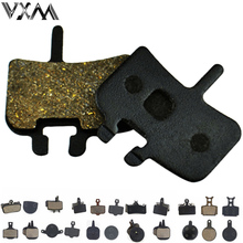 VXM 4 Pair Bicycle Disc Brake Pads for MTB Hydraulic Disc Brake AVID HAYES TEKTRO Magura Formula Bike Cycling Resin brake pads(China)