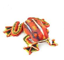 stuffed simulation animal red frog 50 cm plush toy soft doll b9789(China)