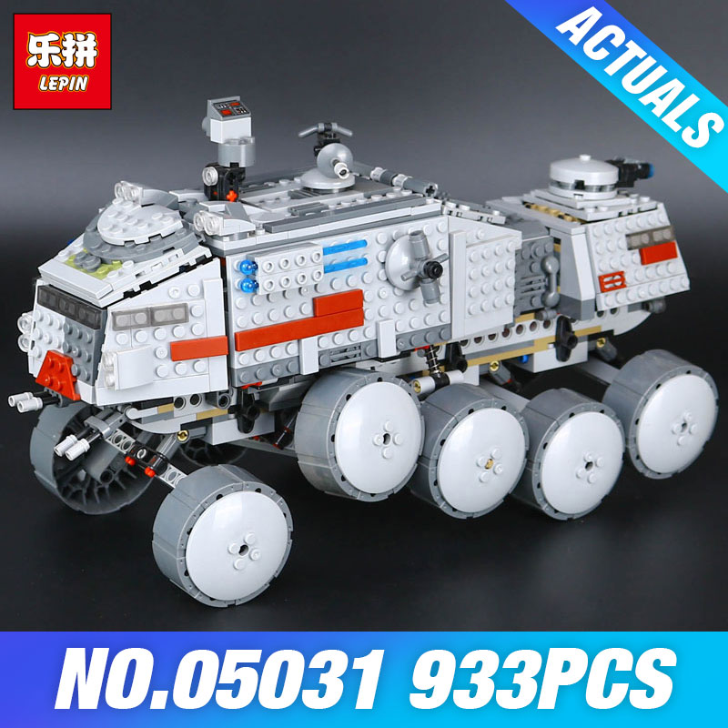 LEPIN 05031 933Pcs Star Clone Wars Turbo Tank 75151 Building Blocks Compatible 75151 Educational Toy 05031 Boys DIY Child Gift<br>