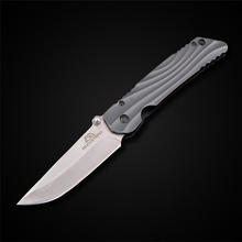 PEGASI High Sharpness Folding Knife Stainless Steel Blade Aluminum Handle Camping Tactical Hunting Knife