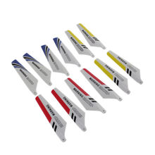 New Top Quality 2pcs Main Blades A + 2pcs Main Blades B Replacement for SYMA S107 Helicopter