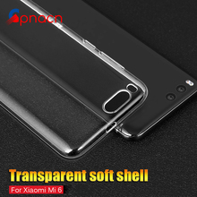 Silicone Case For xiaomi redmi 4 4x 4 pro cover soft tpu transparent Ultra Crystal clear For xiaomi mi6 mi5 mi5s Plus phone bag(China)
