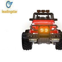 LeadingStar 2WD Brushed RC Car 1/14 Scale Electric Rock Racer Desert Off-Road Truck with 2.4GHz Radio Control RTR zk25