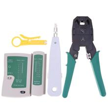 Buy 5pcs/set Network Repair Tool Set LAN Network Tester Wire Cable Pliers Crimp Manual Combination Tool Kit for $16.33 in AliExpress store