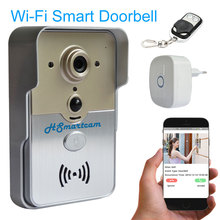 Wireless Wifi Video Door Phone PIR Night Vision Alarm 3G/4G HD Camera Bell Intercom for iPad Smart Phone Remote Monitor / Unlock
