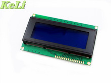 TIEGOULI 5pcs/lot LCD Board 2004 20*4 LCD 20X4 5V Blue screen blacklight LCD2004 display LCD module LCD 2004 new original(China)