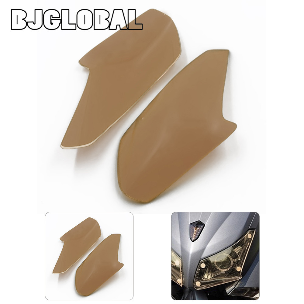 HGC-YA003 New Motorbikes ABS Headlight Protector Cover Screen Lens For Yamaha T MAX 530 2013-2014<br><br>Aliexpress