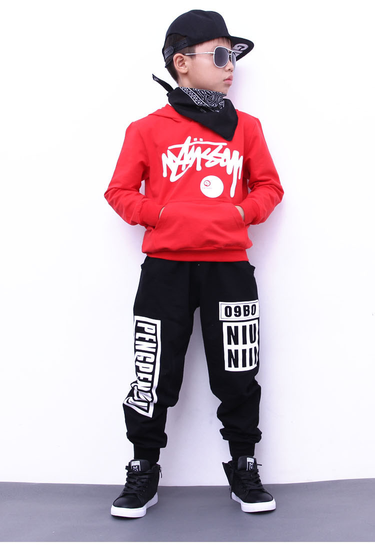 boys hoodie and pant sets 1039-11