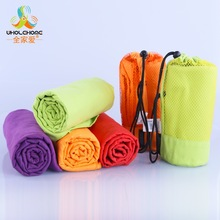 70x130cm Larger Size Sports Towel With Bag Microfiber Gym Towel toalha de esportes Swimming Travel essiential 4 colors