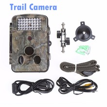 forest camera trail camera outdoor waterproof PIR Alarm 5MP HD recorder with screen(China)