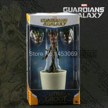 Marvel Guardians Of The Galaxy Mini Dancing Groot Action Figure Collectible Model Toy Doll 12.5cm