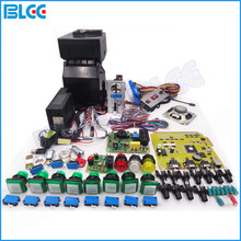 Solt Games Kits with Coolair Casino PCB Power Supply Coin Acceptor Hopper and Push Button etc for Casino Games Machine Kit(China)