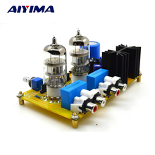 Aiyima 6N2 Tube Amp Preamp PRT-02A Tube PreAmplifier Board Refers to AUDIONOTE-M7 Pre amplifier(China)