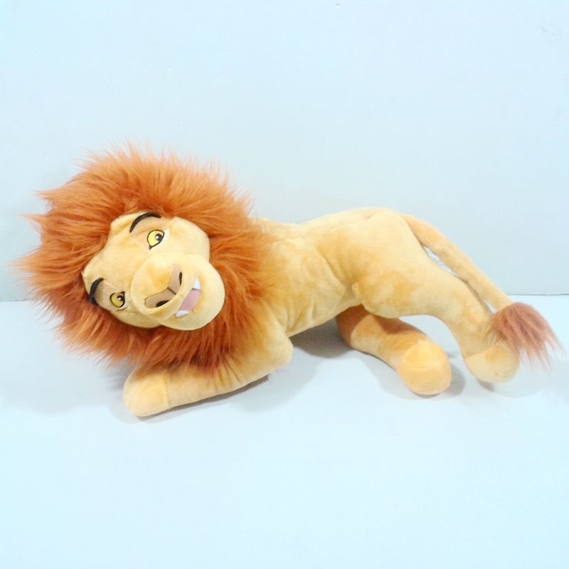 Original Big The Lion King Adult Lying Simba Lion Animal Cute Soft Stuff Plush Toy Baby Birthday Gift<br><br>Aliexpress