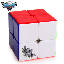 Brand New Cyclone Boys 50mm 2x2x2 Magic Cube Puzzle Cubes Challenge Gifts Educational Toys For Kids Children cubo magico