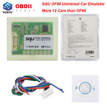 Universal Car Emulator SQU OF80 Immo Programs Tacho Programs For Seat Occupancy Sensor Programs For Benz For BMW For VW OF68 OBD(China)
