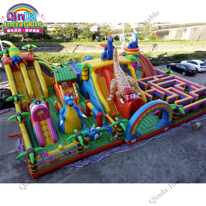 inflatable bounce obstacle adult86