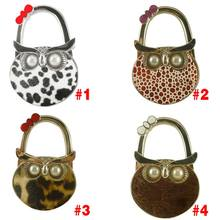 Cute Owl Hanger Foldable Bag Hook Handbag Holder Metal Table Hook  FP8