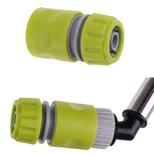 Great 1/2 Quickfit Garden Lawn Water Tap Hose Pipe Fitting Set Connector Adaptor 15mm Necessary Wonder Practical(China)