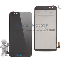 5.0'' Full LCD DIsplay + Touch Screen Digitizer Assembly For LG K7 Tribute 5 LS675 MS330 Sprint Boost Mobile ; Black