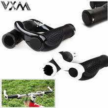 VXM Bicycle Handlebar Grip Cycling Lockable Handle Grips For MTB/ Road Bike Aluminum Alloy+ Rubber Anti-slip Grips Bicycle Parts