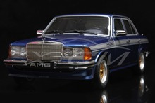 Resin Car Model Otto Mobile 280E AMG (Blue) 1:18 + SMALL GIFT!!!!