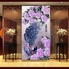 2015 Promotion 5d Cross Stitch Peony And Peacock Diamond Embroidery Painting Gift For Home Decoration Flowers Needlework Mosaic
