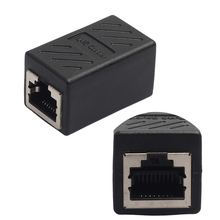 RJ45 network module RJ45 connector Cable adapter Female to Female Network Ethernet LAN Connect Adapter Coupler Extender