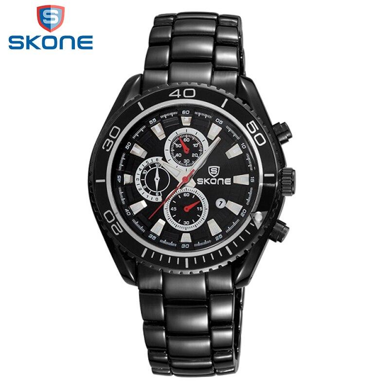 SKONE Calendar Display Watch For Men 2017 Original Popular Sports Mens Watches Factory Directly Sale Leisure Relogio Masculino<br>