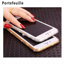 For Coque iPhone Paillettes For iPhone 6 Cases 7plus 5 S 5S SE housse telephone Luxury transparent etui Mobile Phone Accessories