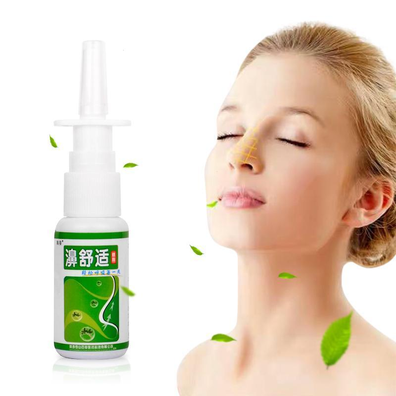 Chinese herbal medicine nose spry treatment of sinusitis rhinitis Nasal itching Sterilizing itching Relieve nasal discomfort U3 1