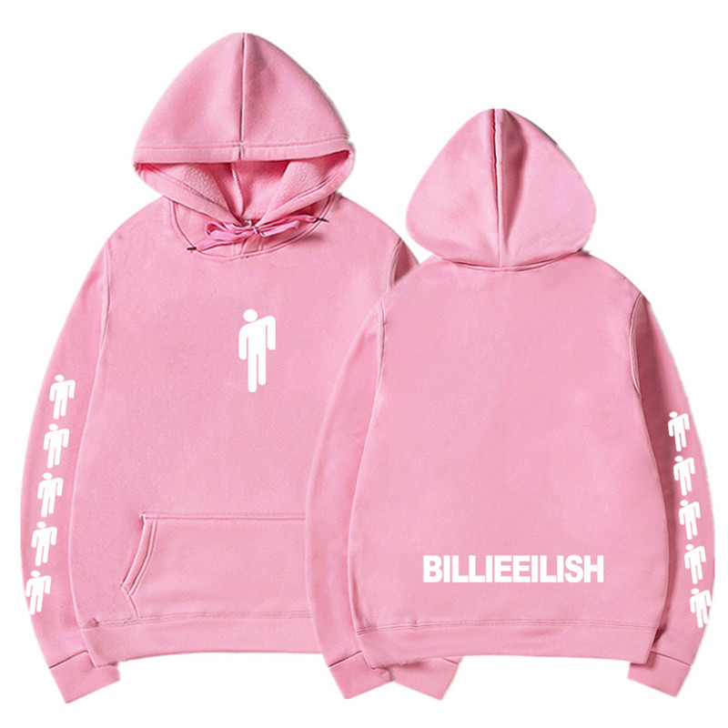 New Hot Billie Eilish Hoodie Men Black Cotton Hoodie Couple Billie Eilish Sweatshirt Simple Keep Warm Women/men Hoodie Clothes 4