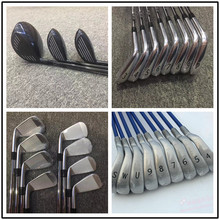 11PCS golf clubs complete sets golf driver +fairways woods + irons golf +putter 917D2 /M2/M1/G30/R15 golf clubs