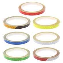 1Pc Bicycle Reflector Reflective Sticker Safety Warning Cycle Fluorescent Decal Tape