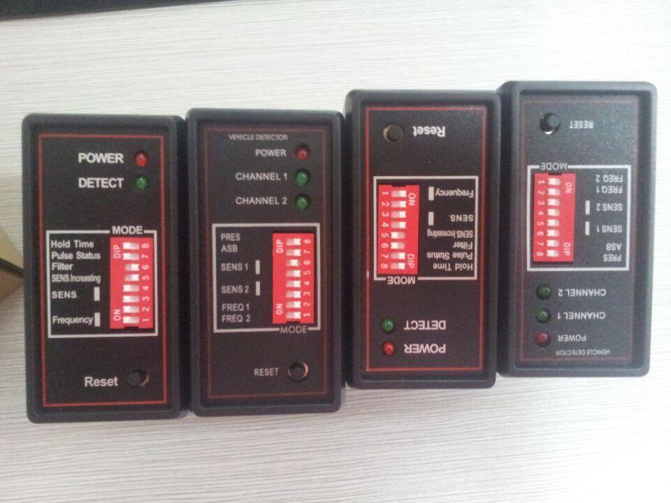 10 pcs/lot dual two Channel Loop Detector Car Parking System 24V 12v 220V 120V Management Vehicle  PD232<br>