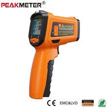 PEAKMETER PM6530D LCD Display Handheld Infrared Thermometer -50~800 with Humidity and Dew Point IRT K type Ambient UV Light(China)