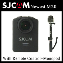 Original SJCAM M20 Gyro Mini Action Helmet Sports DV Camera 30M Waterproof HD 2160P 16MP Bluetooth watch remote control