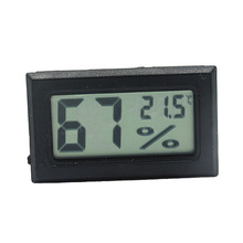 1 PCS Mini LCD Digital Thermometer Hygrometer Temperature Indoor Convenient Temperature Sensor Humidity Meter Gauge Instruments(China)
