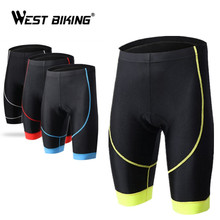 WEST BIKING Cycling Shorts Women 3D Padded Biking Bicycle Short Tights Comfortable Breathable Underwear Bicycle Shorts Clothes
