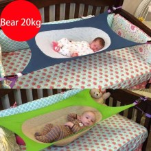 Folding Baby Crib Portable Beds Baby Folding Cot Bed Travel Playpen Hammock Crib New Baby Hammock Bed Photography(China)