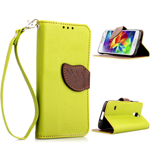 Cover For Samsung Galaxy S5 Mini Case Soft Silicone & Flip Leather Case For Samsung S5 Mini G800F Fundas Card Slot Phone Bag
