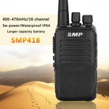 For the Motorola SMP 418 UHF 400-470mhz two way radio 5w power transceiver Pocket computer Mag One high power walkie talkie